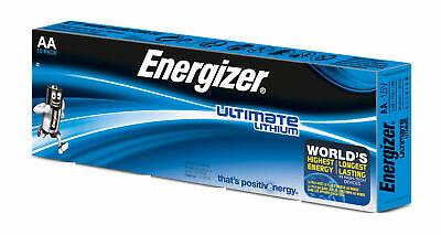 10 x Energizer Ultimate AA Mignon Lithium FR6 L91 1,5V im Karton / Folie Energizer Ultimate Lithium Batterien