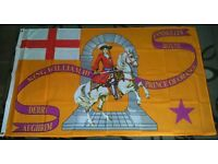 ULSTER LOYALIST SOUVENIRS KING WILLIAM III 5X3 FOOT OUTDOOR FLAG EYELETS