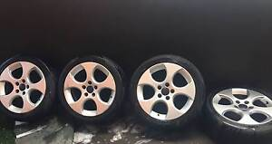 VW Golf GTI Mk IV set of 4 tyres and rims Coogee Eastern Suburbs Preview