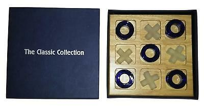 The Classic Collection Holz Tic Tac Toe Brettspiel - B1072