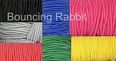 Elastic Bungee Rope Shock Cord Tie Down, per Metre: You choose size and colour