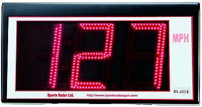 Sports Radar 3 Digit Red Led 4 Display Dl431-r