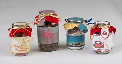 DIY Mason Jar Gift Craft Kits by Create Joy 12 Silent Night Theme - Diy Mason Jar Gifts