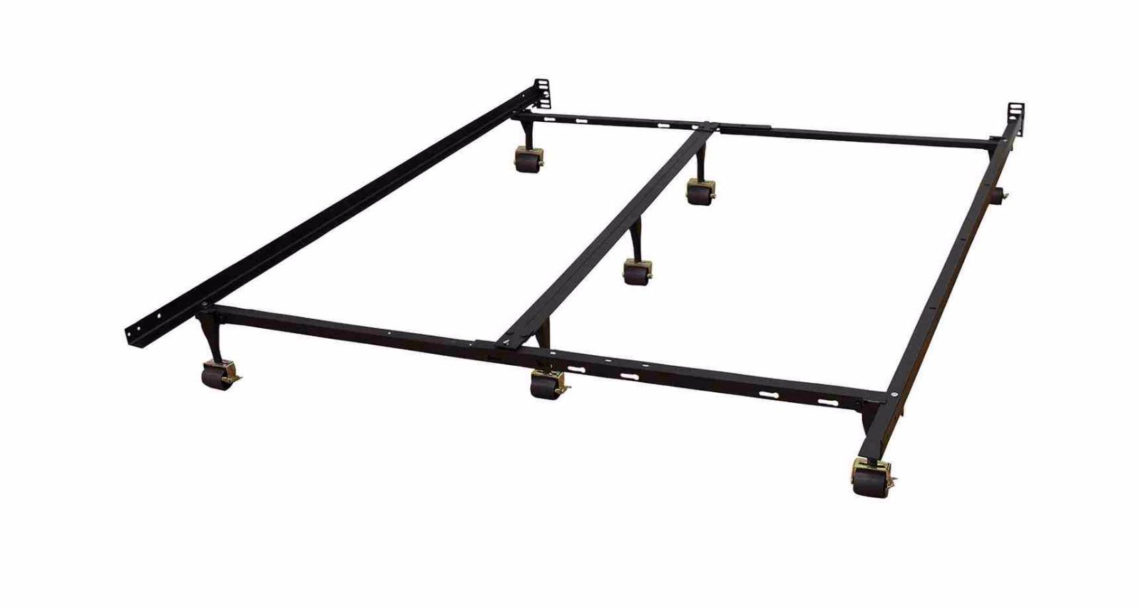 Modern Sleep Universal Heavy-Duty Adjustable Metal Bed Frame