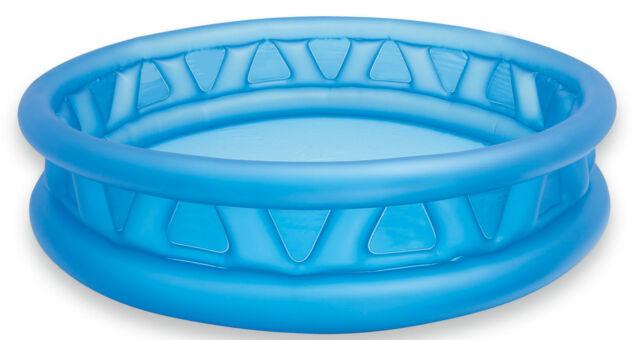Intex Large Round Family Swimming Pool Paddling Pool Outside Water Fun