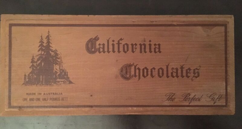 Vintage Chocolates Box Cigar Box Other Antiques Art Collectables