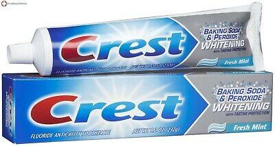 Crest Baking Soda & Peroxide Whitening Toothpaste Mint 8.2 oz
