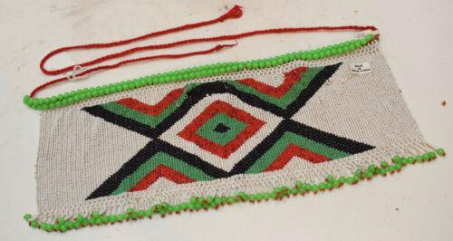 Apron African Beaded  Zulu Apron