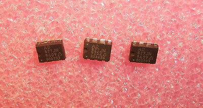 Qty 10 Ad827jn Analog Devices 8 Pin Plastic Dip Low Power Op-amp Refurbished