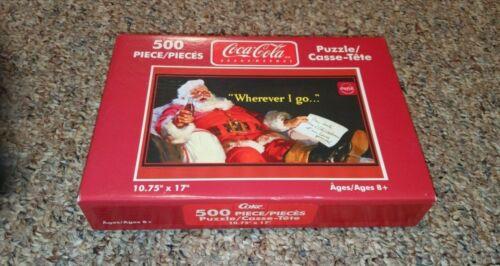 Coca-Cola 500 Piece Puzzle Santa Claus Christmas Holiday NIB