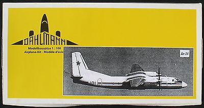 DAHLMANN - ANTONOV An-24 - 1:100 - Flugzeug Modellbausatz - Model Kit
