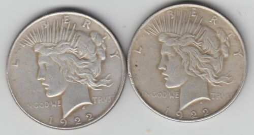 Two Headed 1922 Peace Magic Trick Coin - 1 COIN with 2 Heads! & WePayTheFreight!