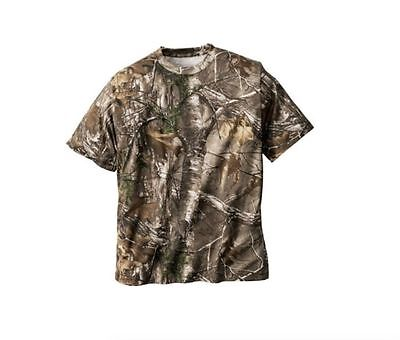 Realtree Camo Short Sleeve Men's T Shirt ~ Hunting ~ Large ~ New ~ Free Shipping