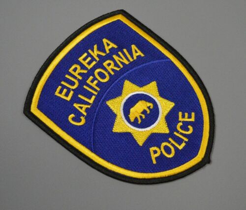 Eureka California Police 2012 version Patch ++ Humboldt County CA