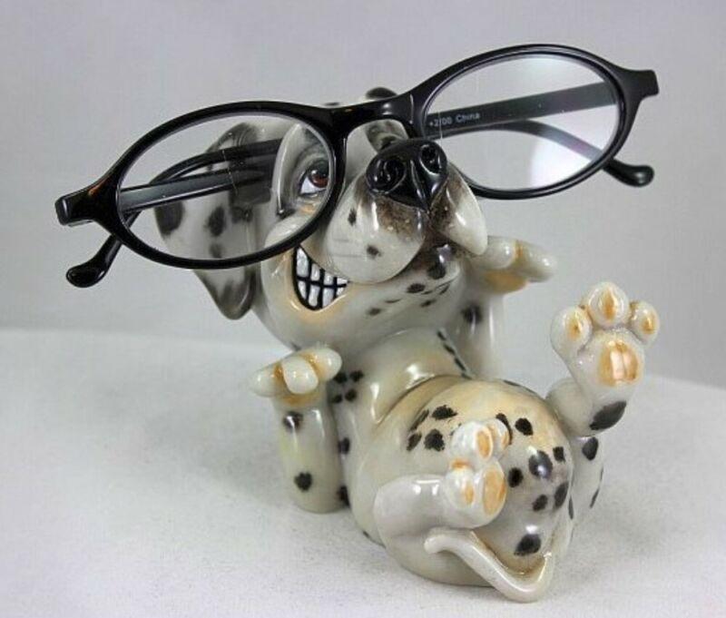 OptiPets / OptiPaws Dog Eyeglass Holder - Dalmatian