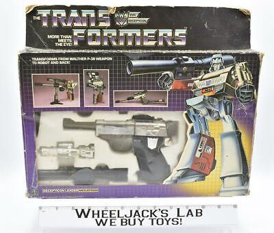 Megatron 100% Complete MIB Complete 1984 Vintage G1 Transformers