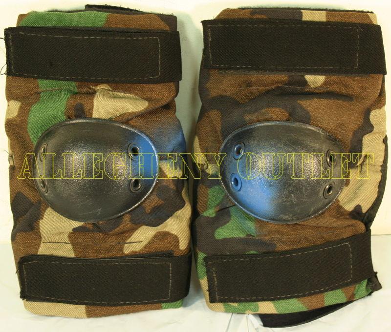 MILITARY SURPLUS BIJANS ACU DIGI CAM TACTICAL ELBOW PADS MED 8415-01-530-2157