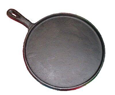 HEAVY DUTY Tortilla Griddle Comal Cast Iron 8 Inches Cast Iron Tortilla