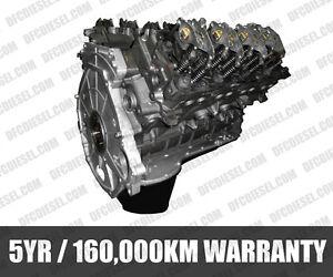 FORD 6.4 POWERSTROKE DIESEL ENGINE/REBUILT 5 YR 160,000KM