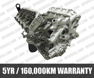 FORD 6.0 POWERSTROKE REBUILT DIESEL ENGINE 5 YR 160,000 WARRANTY