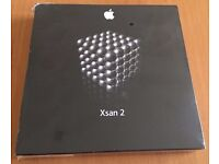 NEW Apple Xsan 2 SAN file system Mac OS X Server Software MultiSAN RAID storage