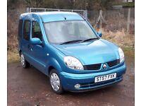 Renault Kangoo Automatic 2007 - Full Service History