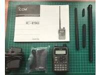 ICOM IC-E90 Multiband Handheld Handi Transceiver - Excellent condition - used little - kept boxed.