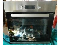 Beko built in Oven - Less than a year old - 13A plug, no specialised installation