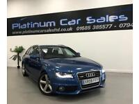 AUDI A4 AVANT TDI S LINE SPECIAL EDITION (blue) 2009