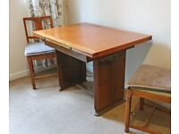 1950s Dining Table and chairs.