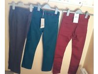 Boys brand new trousers for ages 8-9yrs.