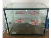 Lincat glass display cabinet