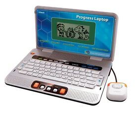 Child's VTech Laptop Lots of activities lots of fun lots of learning exc condition with original box