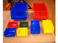Bott Perfo Plastic Bins Brand New