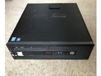 GAMING PC HP EliteDesk 800 G1 SFF i5-4570 EVGA GT 1030 2GB 16GB RAM 2TB win 10