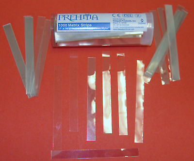 Dental Band Matrix Strips Mylar 4x 38 Box 1000 Prehma