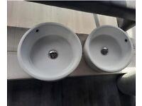 2 x Counter Top Sinks