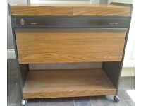 EKCO HOSTESS ROYAL TROLLEY / FOOD WARMER - EXCELLENT CONDITION