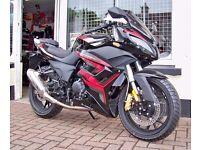 NEW AJS (UK) R7 125cc New Sports Bike 12 Months Parts & Labour Warranty Authorised Dealer