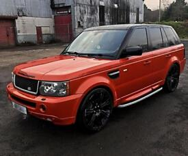 One off Range rover Sport with over finch kit px swap why rangerover