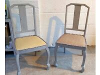 A Pair of Refurbished Chairs