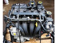 Mini One Engine 66K Miles Suitable from 2000 to 2008, 3 months warranty