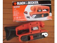 Boxed Black & Decker KA85 Belt Sander