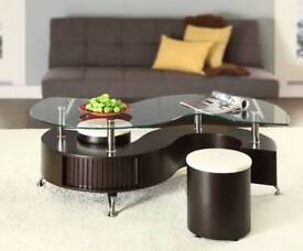 Coffee table with 2 seater