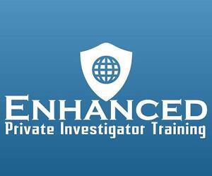 Enhanced Private Investigator Training $349. Advanced Level