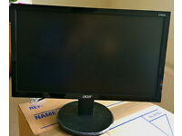 "ACER HD LED screen 18.5""(47cm). In Excellent Condition."