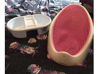 Angelcare bath Seat and top and tail bowl