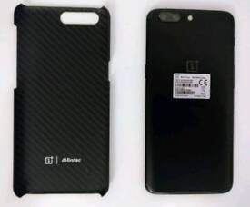 "One Plus 5 A5000 Midnight Black 128GB 8GB Unlocked Android Dual Sim 5.5"""