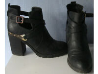 Ladies shoes and boots, mostly hardly worn, sizes 6.5, 7 and 8