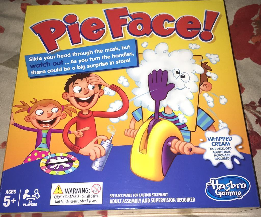 PIE FACE! Game Brand New Sealed!